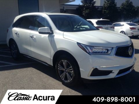 New 2017 Acura MDX Base FWD SUV