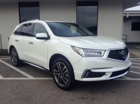 New 2017 Acura MDX with Advance Package With Navigation