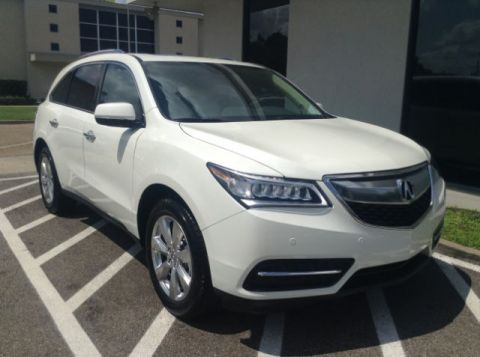 New 2016 Acura MDX SH-AWD with Advance Package With Navigation & AWD