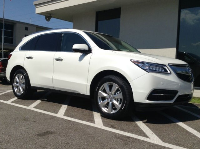 New 2016 Acura MDX with Advance Package