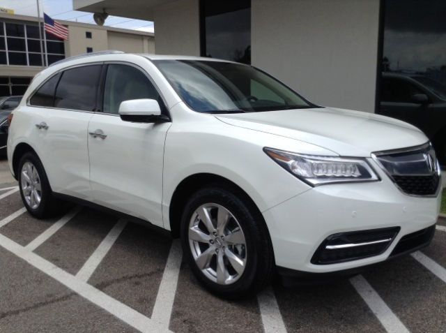 New 2016 Acura MDX SH-AWD with Advance Package